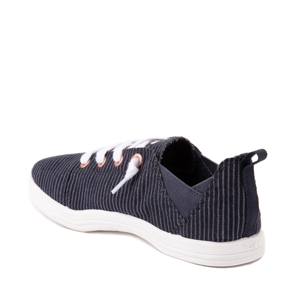 alternate view Womens Roxy Libbie Casual Shoe - NavyALT1