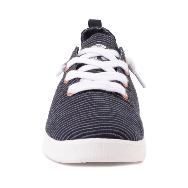alternate view Womens Roxy Libbie Casual Shoe - NavyALT4