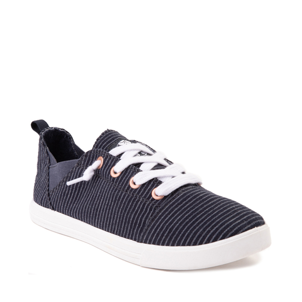 alternate view Womens Roxy Libbie Casual Shoe - NavyALT5