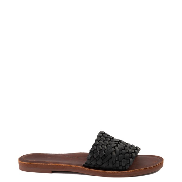 Womens Roxy Arabella Slide Sandal - Black