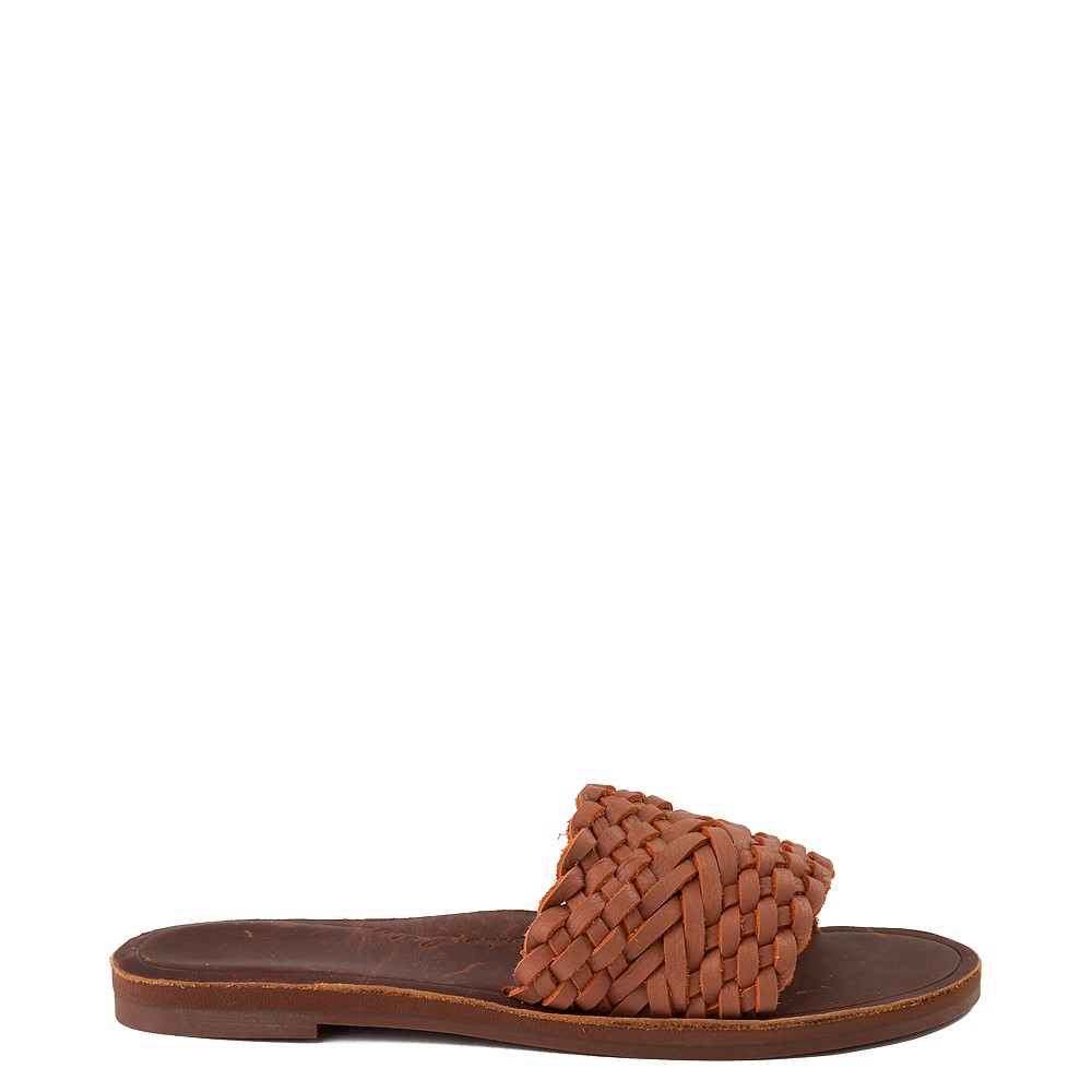 Womens Roxy Arabella Slide Sandal - Tan