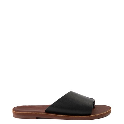Main view of Womens Roxy Helena Slide Sandal - Black