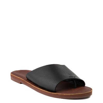 Alternate view of Womens Roxy Helena Slide Sandal - Black