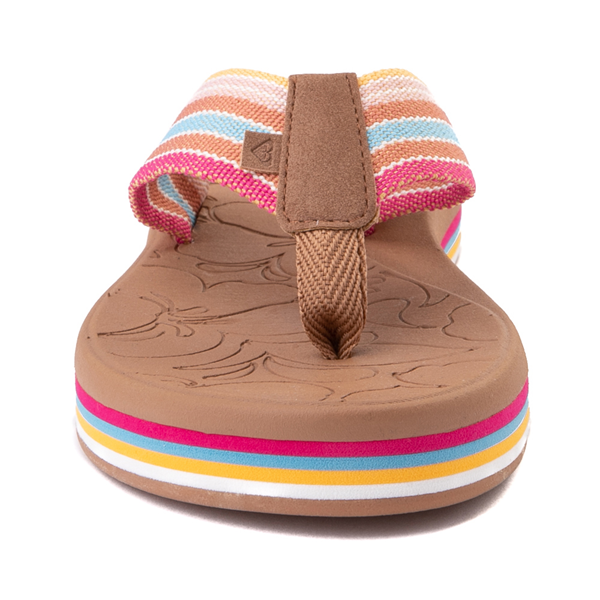 alternate view Womens Roxy Colbee Chunk Sandal - MulticolorALT4