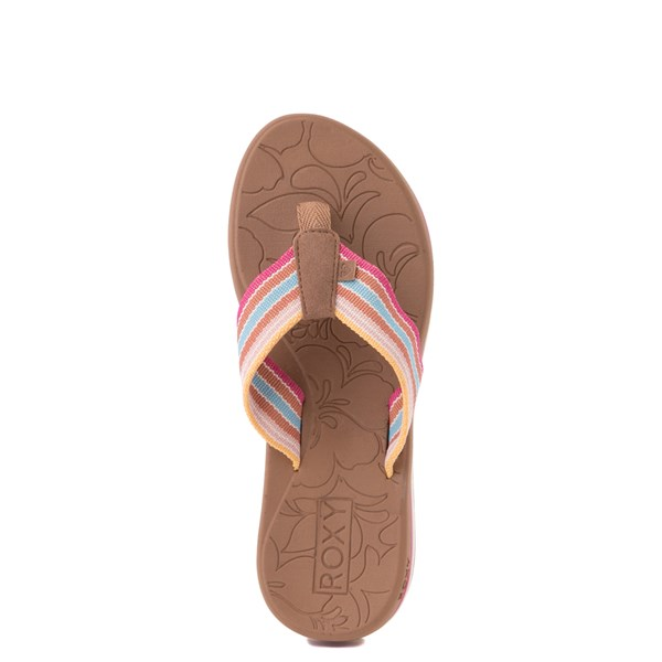 alternate view Womens Roxy Colbee Chunk Sandal - MulticolorALT4B