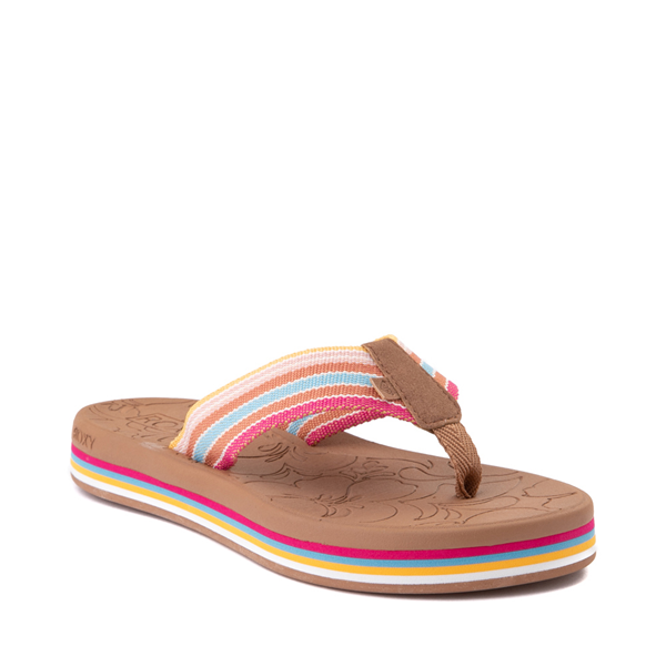 alternate view Womens Roxy Colbee Chunk Sandal - MulticolorALT5