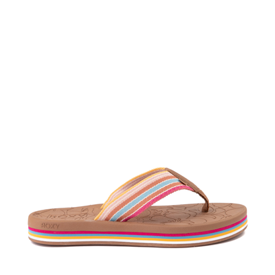 Main view of Womens Roxy Colbee Chunk Sandal - Multicolor