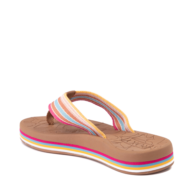 Alternate view of Womens Roxy Colbee Chunk Sandal - Multicolor