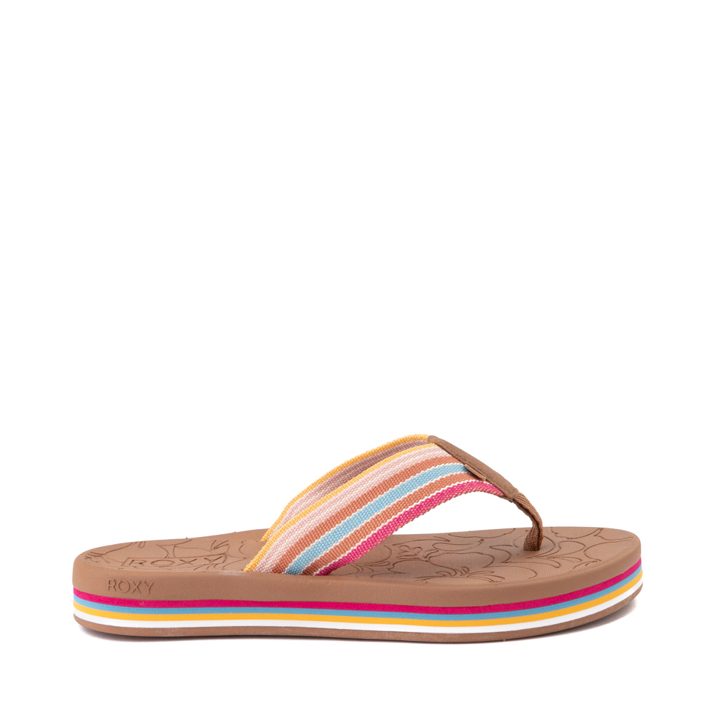 Womens Roxy Colbee Hi Sandal - Multicolor
