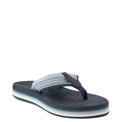 Alternate view of Womens Roxy Colbee Chunk Sandal - Navy