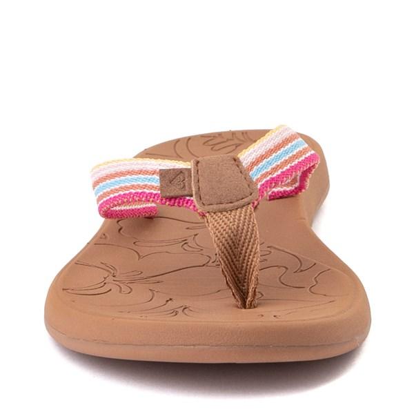 alternate view Womens Roxy Colbee Sandal - Pink / MulticolorALT4