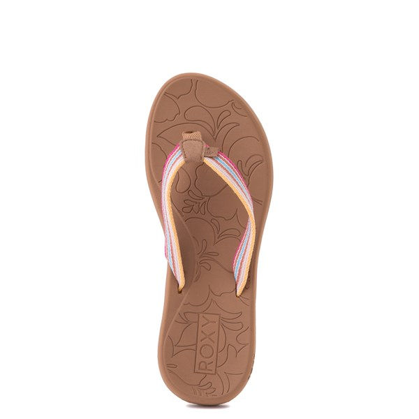alternate view Womens Roxy Colbee Sandal - Pink / MulticolorALT4B