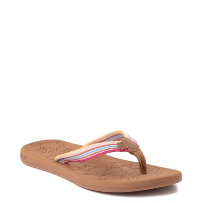 Alternate view of Womens Roxy Colbee Sandal - Pink / Multicolor