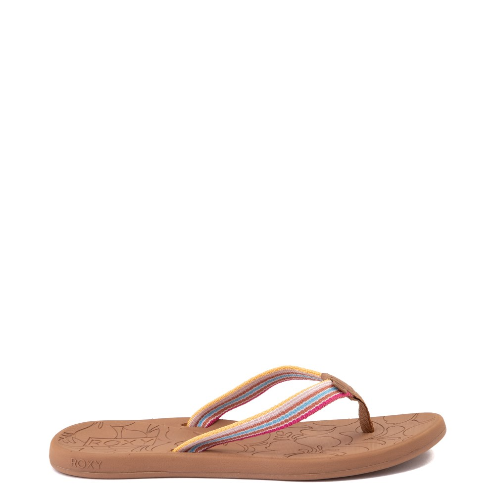 Womens Roxy Colbee Sandal - Pink / Multicolor