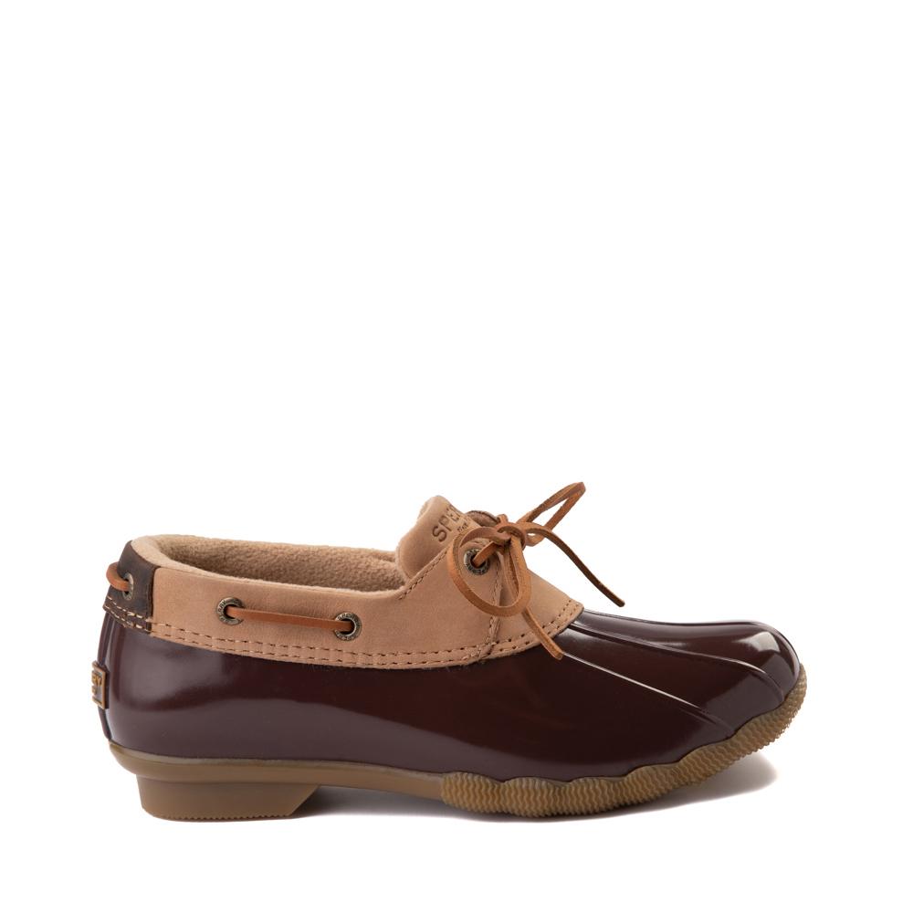 Womens Sperry Top-Sider Saltwater 1-Eye Boot - Tan / Brown