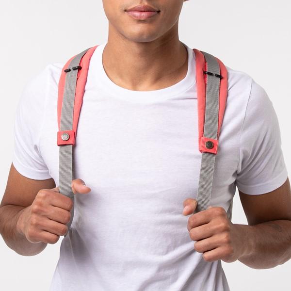 Main view of Fjallraven Kanken Backpack Shoulder Pads - Peach Pink