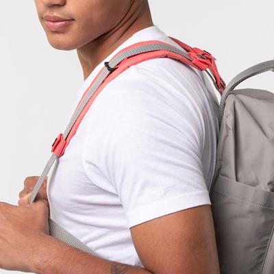 Alternate view of Fjallraven Kanken Backpack Shoulder Pads - Peach Pink