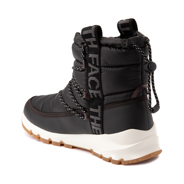alternate view Womens The North Face Thermoball™ Lace Boot - BlackALT1