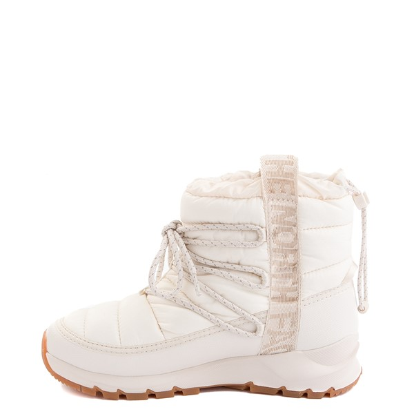 alternate view Womens The North Face Thermoball™ Lace Boot - Vintage WhiteALT1