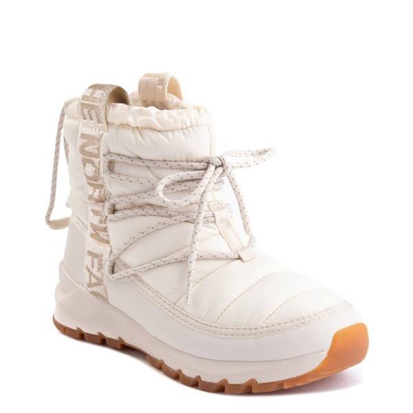 alternate view Womens The North Face Thermoball™ Lace Boot - Vintage WhiteALT5