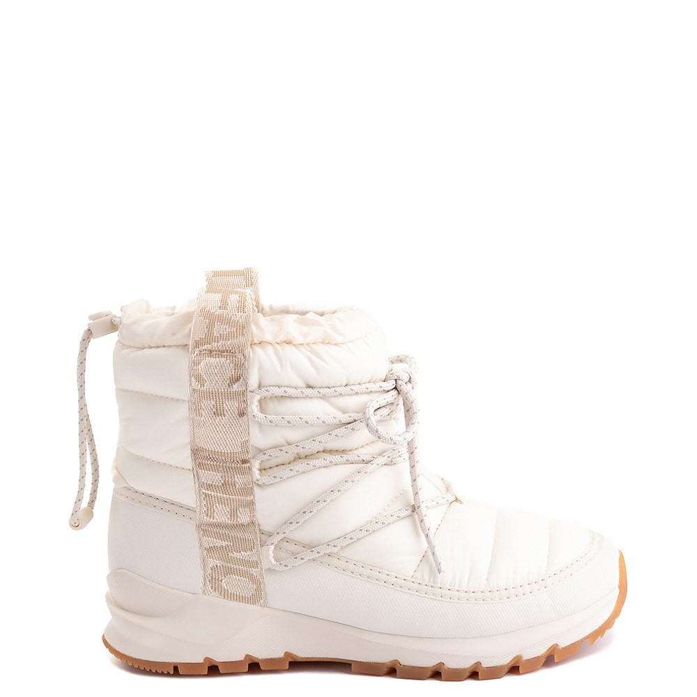 Womens The North Face Thermoball™ Lace Boot - Vintage White