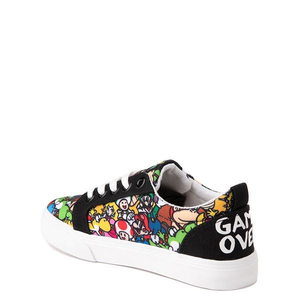 alternate view Ground Up Super Mario Bros. Low Sneaker - Little Kid / Big Kid - MulticolorALT1