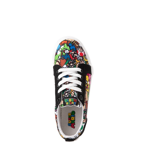 alternate view Ground Up Super Mario Bros. Low Sneaker - Little Kid / Big Kid - MulticolorALT2
