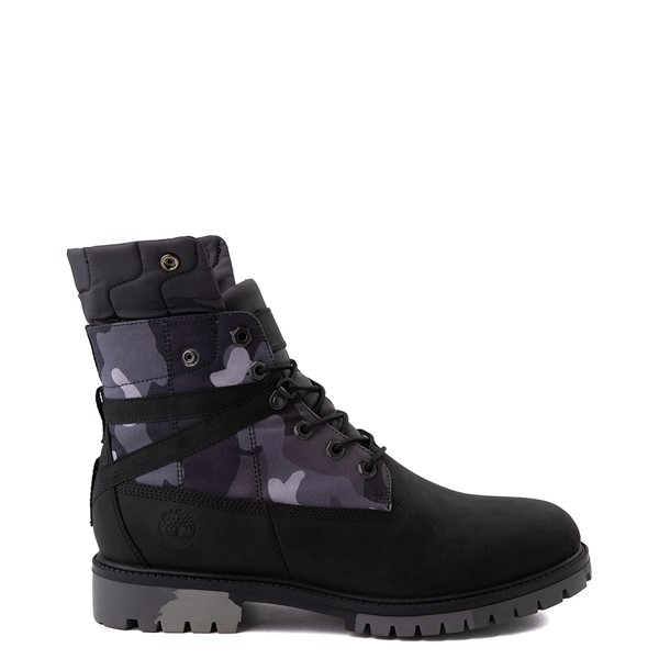 """alternate view Mens Timberland Heritage Earthkeepers®+ 6"""" Boot - Black / Gray CamoALT1"""