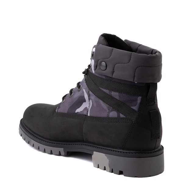 """alternate view Mens Timberland Heritage Earthkeepers®+ 6"""" Boot - Black / Gray CamoALT2"""