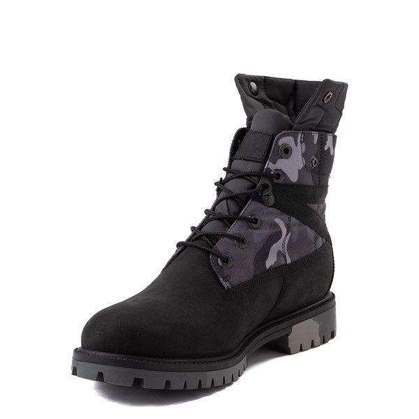 """alternate view Mens Timberland Heritage Earthkeepers®+ 6"""" Boot - Black / Gray CamoALT3"""