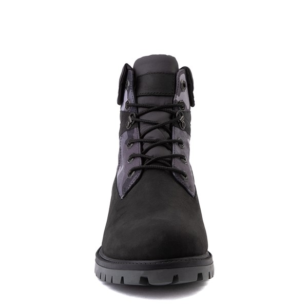 """alternate view Mens Timberland Heritage Earthkeepers®+ 6"""" Boot - Black / Gray CamoALT4"""