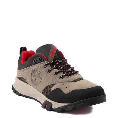 Alternate view of Mens Timberland Garrison Trail Low Waterproof Hiker Boot - Gray