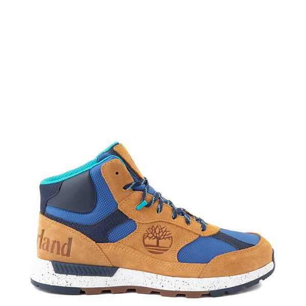 Mens Timberland Field Trekker Mid Boot - Wheat / Blue