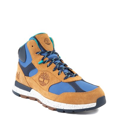 Alternate view of Mens Timberland Field Trekker Mid Boot - Wheat / Blue