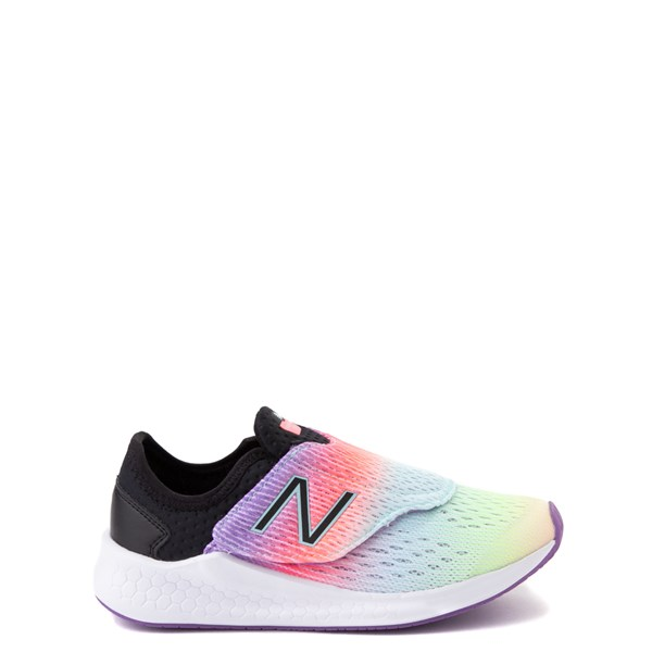 New Balance Fresh Foam Fast Athletic Shoe - Little Kid - Neo Violet / Black