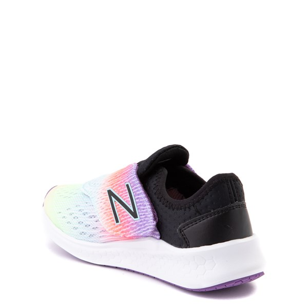 alternate view New Balance Fresh Foam Fast Athletic Shoe - Little Kid - Neo Violet / BlackALT2