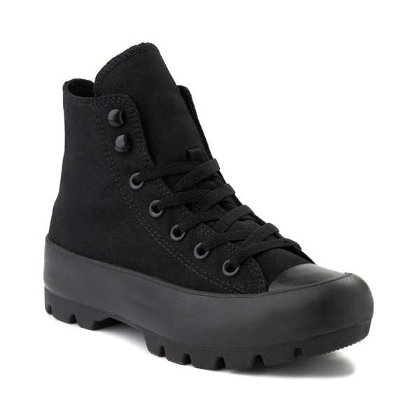alternate view Womens Converse Chuck Taylor All Star Hi Lugged Sneaker - Black MonochromeALT5