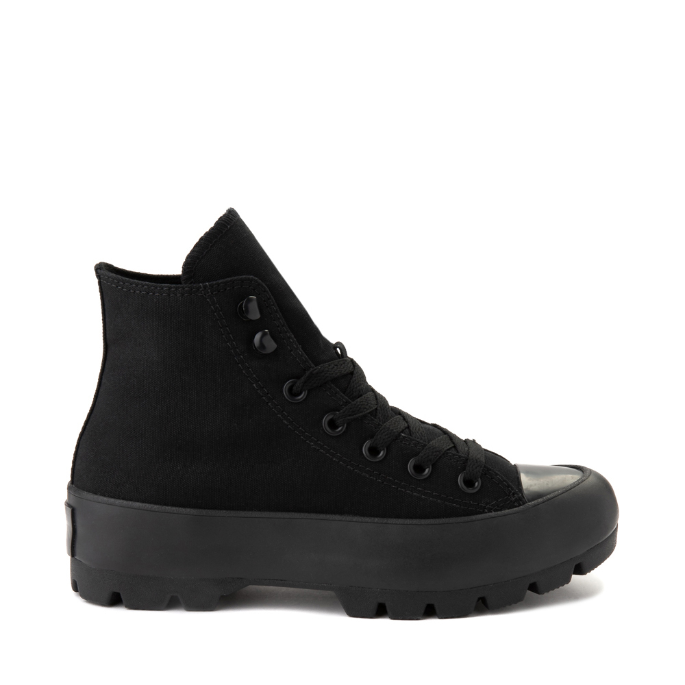 Womens Converse Chuck Taylor All Star Hi Lugged Sneaker - Black Monochrome