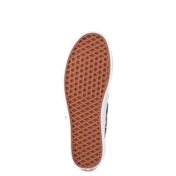 alternate view Vans Slip On Checkerboard Skate Shoe - Rose / LeopardALT3