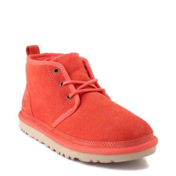 alternate view Womens UGG® Neumel Short Boot - CoralALT1