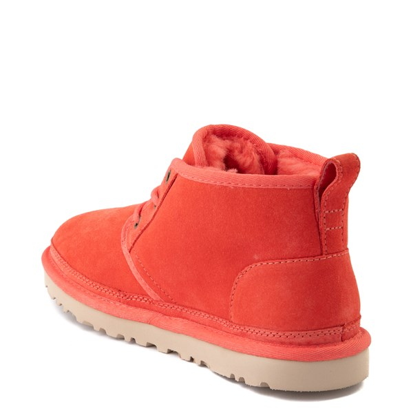 alternate view Womens UGG® Neumel Short Boot - CoralALT2