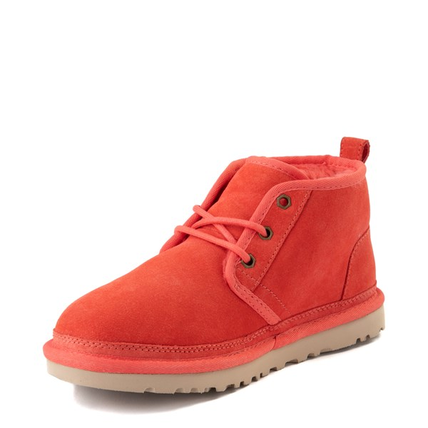 alternate view Womens UGG® Neumel Short Boot - CoralALT3