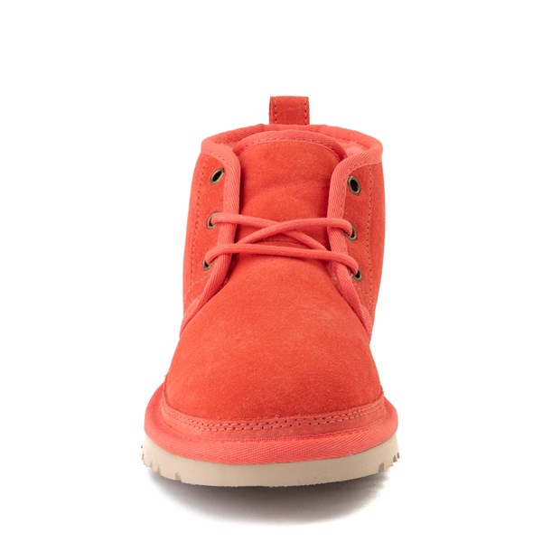 alternate view Womens UGG® Neumel Short Boot - CoralALT4