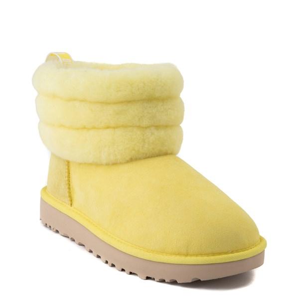 alternate view Womens UGG® Classic Mini Fluff Boot - MargaritaALT1