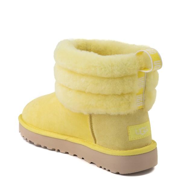alternate view Womens UGG® Classic Mini Fluff Boot - MargaritaALT2