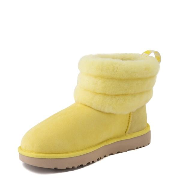 alternate view Womens UGG® Classic Mini Fluff Boot - MargaritaALT3