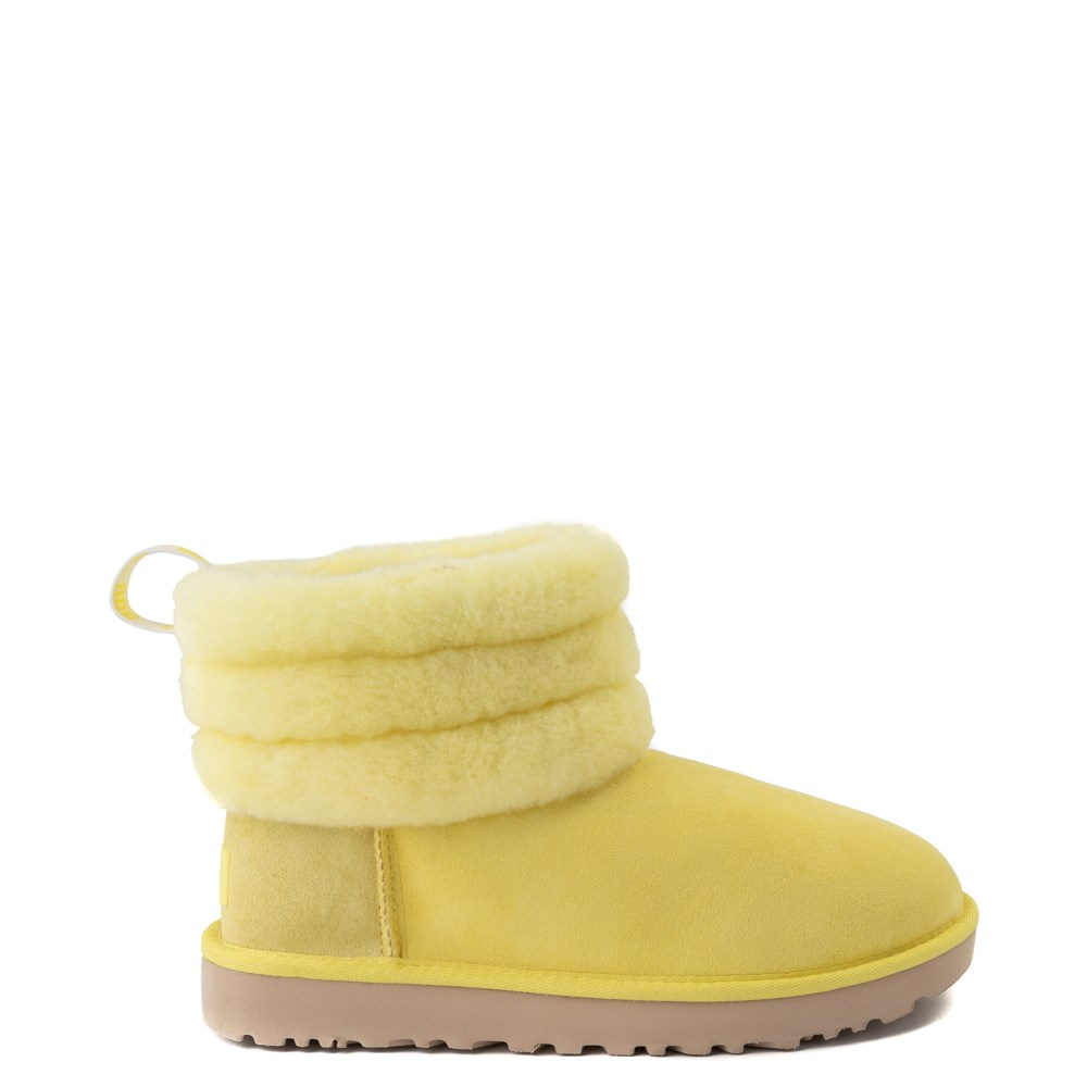 Womens UGG® Classic Mini Fluff Boot - Margarita