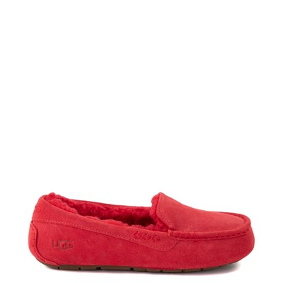 Main view of Womens UGG® Ansley Slipper - Ribbon Red