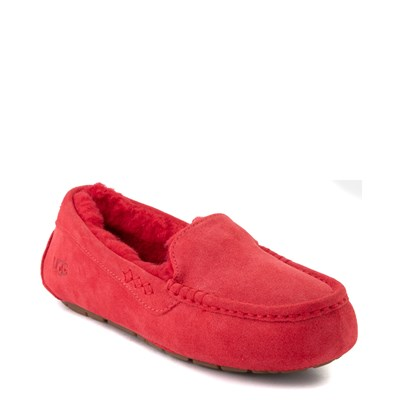 Alternate view of Womens UGG® Ansley Slipper - Ribbon Red