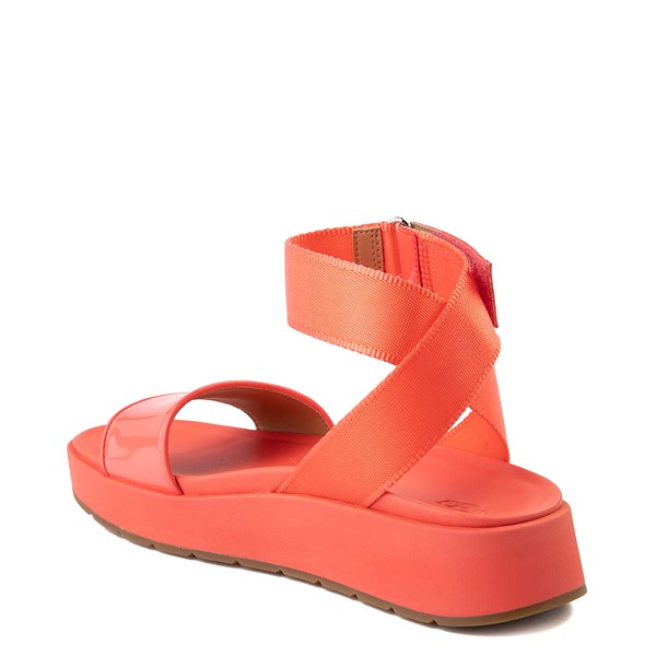 alternate view Womens UGG® Lennox Sandal - Pop CoralALT2